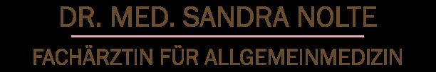 Praxis Dr. med. Sandra Nolte